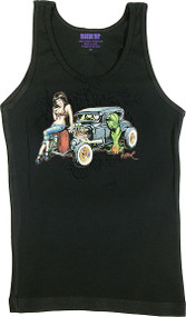 BigToe Heidi Deluxe Woman's Ribbed Tank Top Image