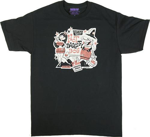 Derek Yaniger Hot Diggity T Shirt Image