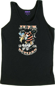 Ben Von Strawn Junk Buzzard Womans Baby Doll Tee and Ribbed Tank Top Image