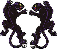 Dan Collins Panther Set (2) Patches Image