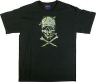 Pigors Zombie Skull T Shirt Image