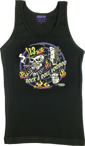 Vince Ray Voodoo 13 Womans Baby Doll Tee and Boy Beater Tank Image