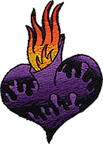 Dan Collins Sacred Heart Patch Image