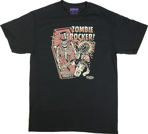 Vince Ray Zombie Rocker T-Shirt