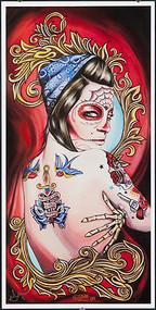 Gustavo Love Sacrafice Signed Print Image