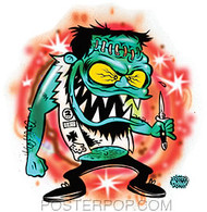 Dirty Donny Bully Sticker Image
