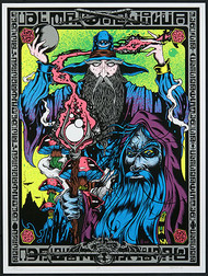 Dirty Donny Alan Forbes Wizards Art Silkscreen Print Poster 2011 Image