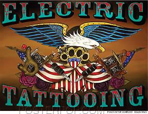 Gustavo Rimada Electric Tattooing Sticker Image