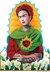 Gustavo Querida Frida Sticker Image