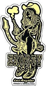 Rockin JellyBean Western Pop Sticker Image