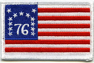 American Flag Patch 1776 Betsy Ross Image