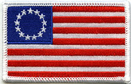 American Flag Patch Original 13 Betsy Ross Image