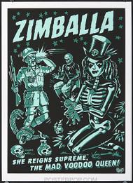 Vince Ray Zimballa Silkscreen Poster Image