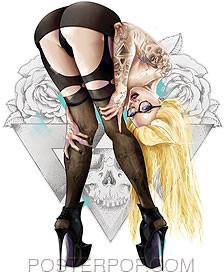 Artist Tyson McAdoo 4321 - Blonde Sticker Image