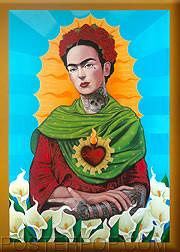 Gustavo Rimada Querida Frida Kahlo Fridge Magnet Image