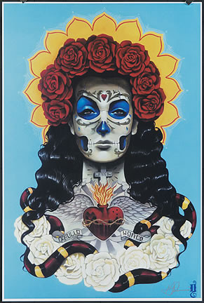 Gustavo Rimada Amor Hand Signed Print Image