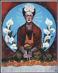 Gustavo Rimada Frida Kahlo Los Angeles Hand Signed Print Image