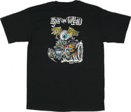 Von Franco Eye Gone Wild T Shirt Image