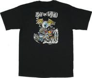 Von Franco Eye Gone Wild T Shirt Image