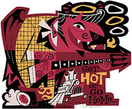Derek Yaniger Get Hot Sticker Image