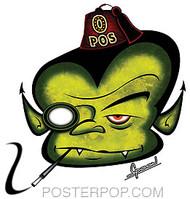 Chico Von Spoon Vamp Sticker Image