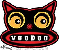 Chico Von Spoon Voodoo Cat Sticker Image