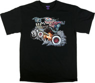BigToe Monster Hot Rod T Shirt