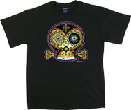 Chico Von Spoon 3C Sugar Skull T Shirt Image