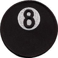 8 Ball Patch Large 3