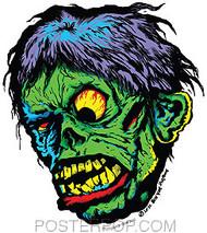 Ben Von Strawn Shock Sticker Image