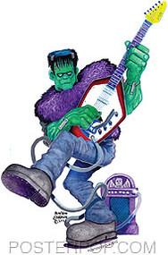 Ben Von Strawn Monster Party Sticker Image
