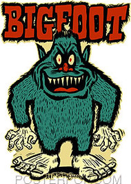 Ben Von Strawn Bigfoot Sticker Image