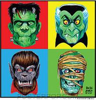 Ben Von Strawn 4 Monsters Sticker Image