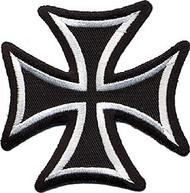 Maltese Cross Patch Image