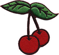 2 Cherries Patch Image
