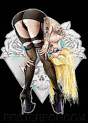 Tyson McAdoo 4321 Blonde Fridge Magnet Image
