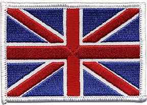 Union Jack Patch Image