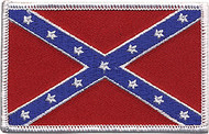 Confederate Flag Patch Image
