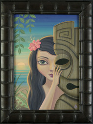 Aaron Marshall Traditional Hula Limited Edition Fine Art Print Gallery Wrapped Canvas Framed Image