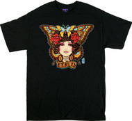 Gustavo Beauty Butterfly T Shirt Image