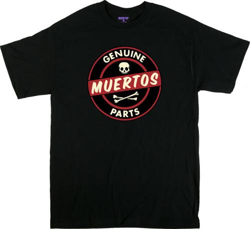 Kruse Genuine Muertos Parts T Shirt Image