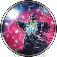 Dirty Donny Wizard Mural Sticker Image