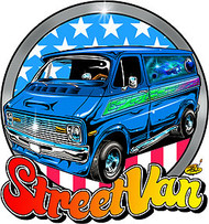 Dirty Donny Street Van Sticker Image