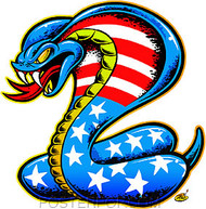 Dirty Donny Cobra Sticker Image