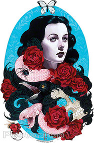 Artist Gustavo Rimada Grace Sticker Image