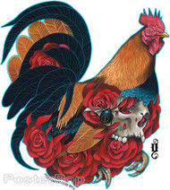 Gustavo Rimada El Gallo Sticker Image
