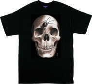 Gustavo Darkside of the Moon Skull T Shirt Image