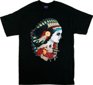 Gustavo Rimada American Spirit Indian T Shirt Image