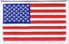 American Flag Patch Image