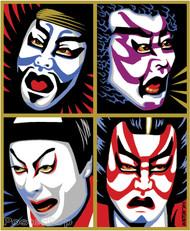 Almera Kabuki Sticker Image